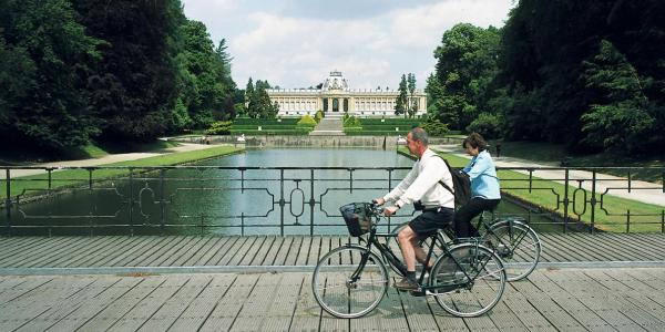 Biking in Tervuren